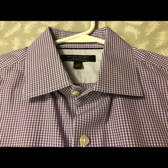 Banana Republic Men's Dress Shirt Slim Fit Size S